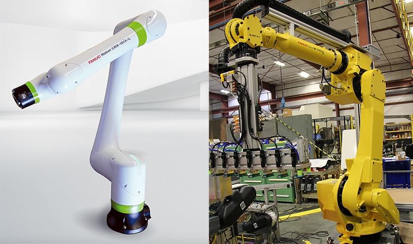 collaborative versus industrial robots
