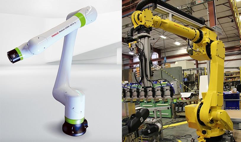 collaborative versus industrial robots